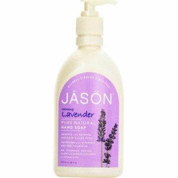 2 Pack - Jason Pure Natural Hand Soap, Calming Lavender 16 oz