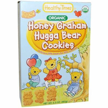 Healthy Times, Organic Hugga Bear Cookies, Honey Graham, 6.5 oz(pack of 4)