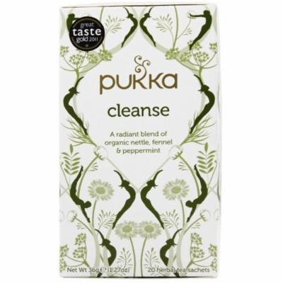 4 Pack - Pukka Cleanse Herbal Tea 20 ea