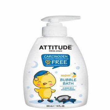 ATTITUDE, Little Ones, Night Bubble Bath, Almond Milk, 10 fl oz (pack of 1)