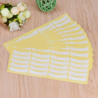 Womail 100 Pairs Eyelash Extensions Under Eye Pads Stickers for Eyelashes Extension