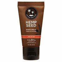 Earthly Body Hemp Seed Shave Cream - Isle of You - 1 oz