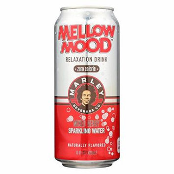 Marley Mellow Mood Relaxation Drink - Zero Calorie - Mixed Berry Sparkling Water - 16fl.oz.(Pack of 12)