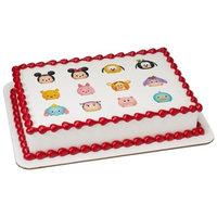 Disney Tsum Edible Icing ImageCake/Cupcake Party Topper for 1/4 sheet cake