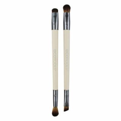 EcoTools, Eye Enhancing Duo Set, 4 Brush Heads(pack of 2)