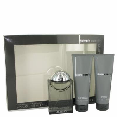 Pierre Cardin Men's Gift Set -- 3.4 Oz Cologne Spray + 4.2 Oz After Shave Balm + 4.2 Oz Shower Gel