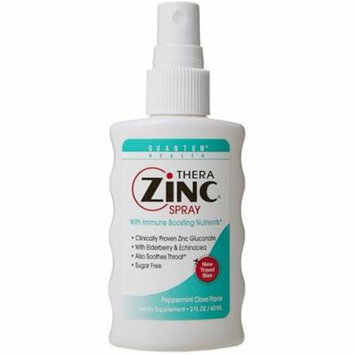 4 Pack - Quantum Health Thera Zinc Spray 2 oz