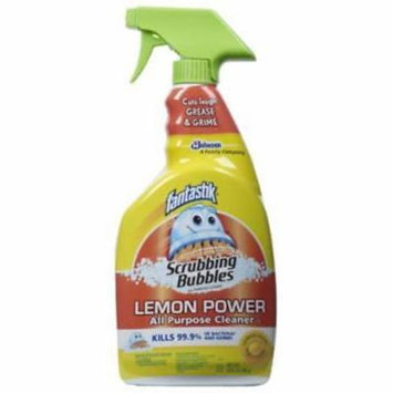 NEW 2PK 32 OZ Lemon Fantastik Antibacterial All Purpose Cleaner
