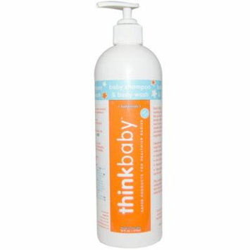 Think, Thinkbaby, Baby Shampoo and Body Wash, 16 fl oz(pack of 12)