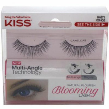 2 Pack - KISS Natural Flourish Blooming Eyelashes, Camellias 1 ea