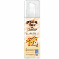 2 Pack - Hawaiian Tropic Silk Hydration Weightless Sunscreen Lotion SPF 15 5.1 oz