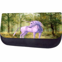 Unicorn In the Forest Jacks Outlet TM Nylon-Lined Cosmetic Case