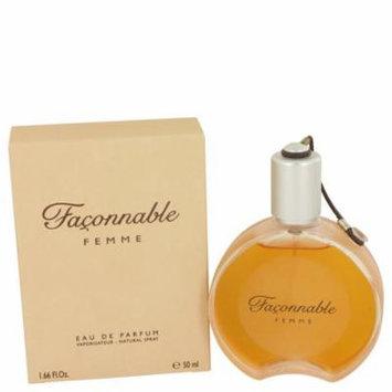 Faconnable Women's Eau De Parfum Spray 1.7 Oz