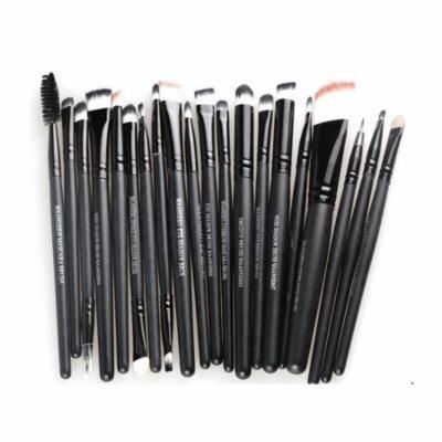 Womail 20 Pcs Makeup Set Powder Foundation Eyeshadow Eyeliner Lip Brushes