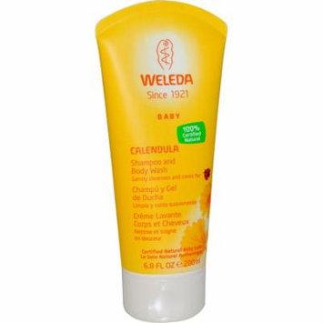 Weleda, Calendula, Baby Shampoo and Body Wash, 6.8 fl oz (pack of 6)