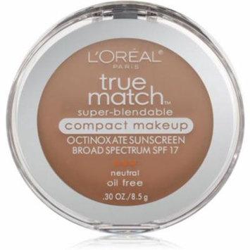 L'Oreal True Match Super-Blendable Compact Makeup, Buff Beige [N4], 0.30 oz