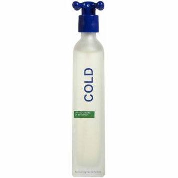 3 Pack - United Colors Of Benetton Cold Eau De Toilette Spray for Men 3.30 oz