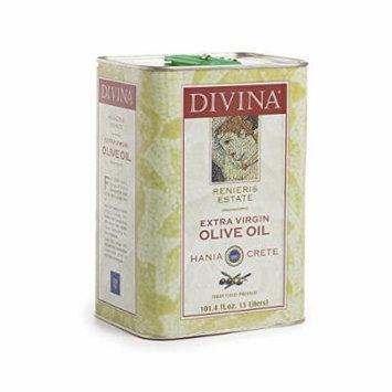 Divina Renieris Estate Extra Virgin Olive Oil - 3 Liter Tin