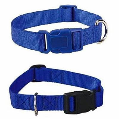 BLUE DOG COLLAR BULK LOT PACKS 4 Sizes Nylon Litter Band Puppy Rescue Shelter(Medium - 14 to 20 Inch 30 Collars)