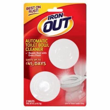 NEW 2PK Automatic Toilet Bowl Cleaner Designed & Tested To Repel Rust &