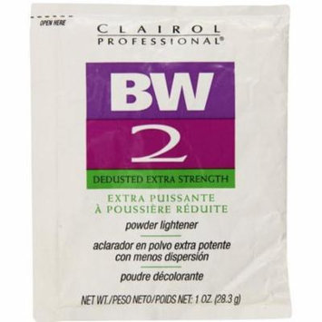 Clairol Professional BW2 Powder Lightener, Dedusted Extra Strength 1 oz (Pack of 6)