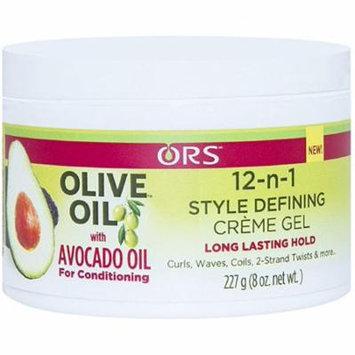 3 Pack - ORS Olive Oil 12-n-1 Style Defining Creme Gel 8 oz