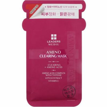 Leaders, Mediu, Amino Clearing Mask, 1 Mask, 25 ml(pack of 4)