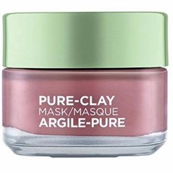 3 Pack - L'Oreal Skin Care Pure Clay Mask Exfoliate and Refine Pores 1.7 oz