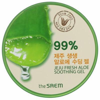 The Saem, Jeju Fresh Aloe Soothing Gel, 10.14 fl oz(pack of 2)