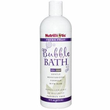 NutriBiotic, Bubble Bath, Non-Soap, Fresh Fruit, 16 fl oz (pack of 2)