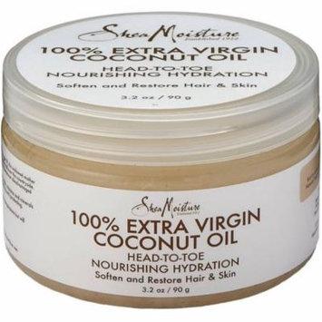 3 Pack - Shea Moisture 100% Extra Virgin Coconut Oil 3.2 oz