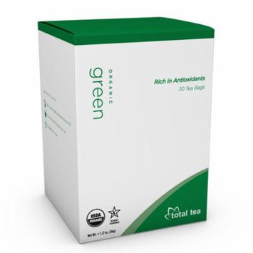 Total Tea Pure Organic Green Tea | 20 Herbal Tea Bags
