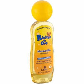 4 Pack - Grisi Ricitos De Oro Baby Shampoo with Manzanilla 8.40 oz