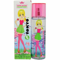 2 Pack - Passport Tokyo By Paris Hilton Eau De Toilette Spray 3.40 oz