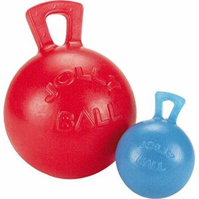 Rubber Dog Toy Tug-N-Toss Jolly Ball Small 4 1/2