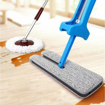 DZT1968Useful Double-Side Flat Mop Hands-Free Washable Mop Home Cleaning Tool Lazy
