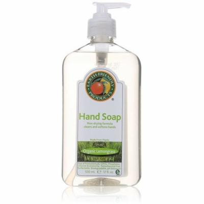 3 Pack - Earth Friendly Products Hand Soap, Lemongrass 17 oz