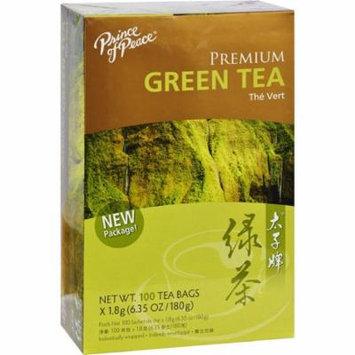 Prince of Peace Organic Green Tea, 100 Tea Bags Per Box Count