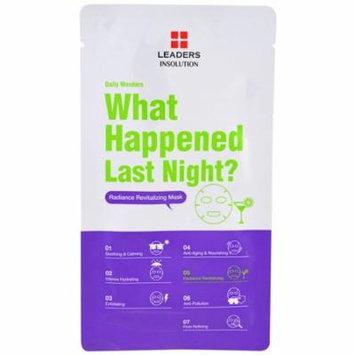 Leaders, Daily Wonders, What Happened Last Night, 1 Mask(pack of 1)