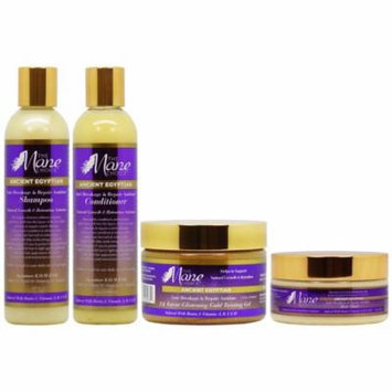 The Mane Choice Ancient Egyptian Shampoo + Conditioner + Hair Mask + 24 Karat Twisting Gel