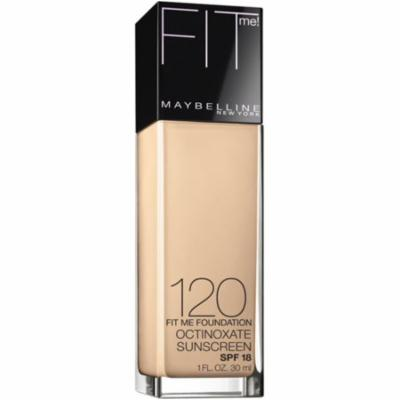 Maybelline New York Fit Me! Foundation, Classic Ivory [120], 1 oz