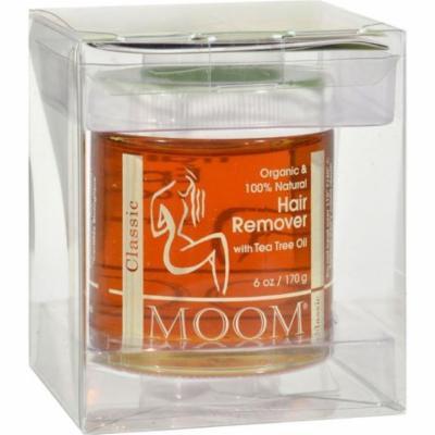 Moom - Organic Hair Remover With Tea Tree Oil 6oz