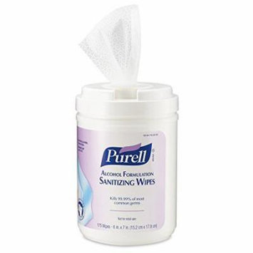 PURELL 9031-06 Antimicrobial Sanitizing Wipes, (175 Count) - 6 Pack by Purell