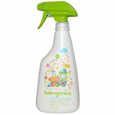 BabyGanics, Toy & Highchair Cleaner, Fragrance Free, 17 fl oz (pack of 4)