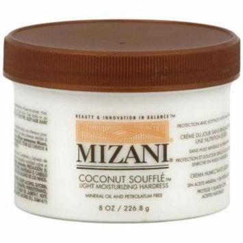 MIZANI Coconut Souffle Light Moisturizing Hairdress, 8 oz (Pack of 3)