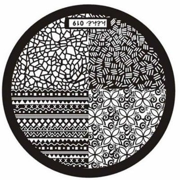 Womail Hot Hehe Series Nail Art Image Stamp Stamping Plates Manicure Template