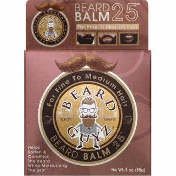 4 Pack - Beard Guyz Beard Balm, Fine/Medium 3 oz