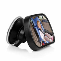 Lemonbest Back Seat Baby Mirror - Rear View Baby Car Seat Mirror Adjustable Front View Mirror Safety Wide View Angle