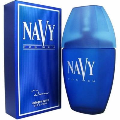 3 Pack - Dana Navy Cologne Spray for Men 3.4 oz