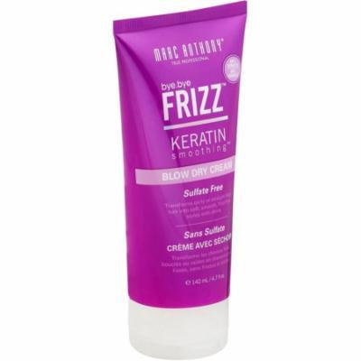 3 Pack - Marc Anthony True Professional Bye Bye Frizz Keratin Smoothing Blow Dry Cream 4.7 oz